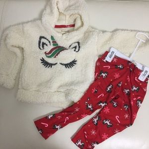 One step up Cute Unicorn warm outfit